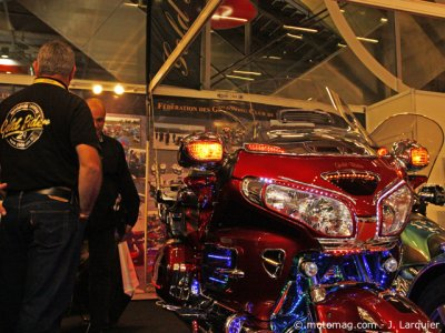 Ambiance salon de Paris : Goldwing
