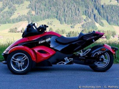 can am spyder 1000 se5 moto magazine leader de l actualit de la moto et du motard. Black Bedroom Furniture Sets. Home Design Ideas