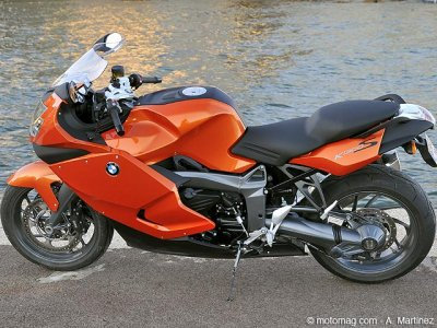 Essai BMW K 1300 S : options shifter