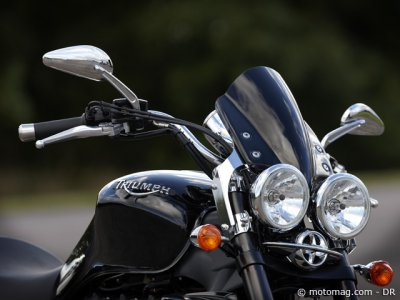 Essai Triumph Rocket III Roadster : options