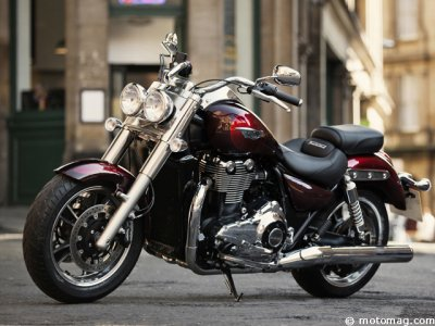 Triumph Thunderbird : version Commander