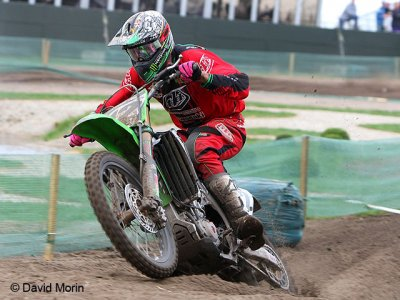 Valkenswaard 2009 : David Vuillemin s'enlise dans le sable hollandais