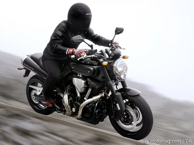 Essai Yamaha MT-01 (09) : comportement exigeant
