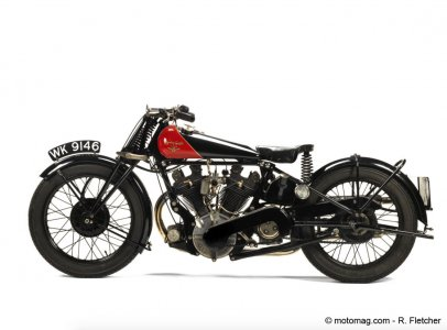 Une Coventry Eagle 980cc Flying-8 OHV de 1929
