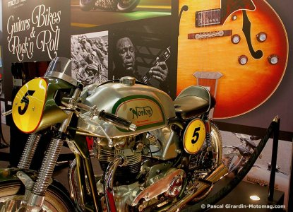 Salon de la moto de Paris 2015 : Norton Model 7 1955