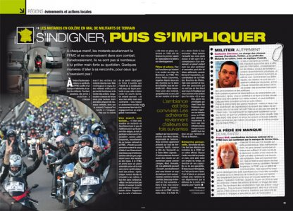 Moto Mag sept 2011 : engagez-vous !