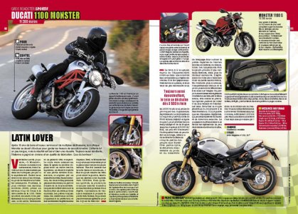 Spécial roadster 2009 : Ducati 1100 Monster