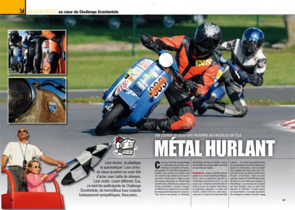 Moto Mag n°273 : Challenge Scootentôle