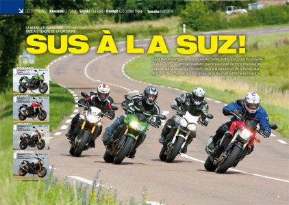 Moto Mag sept 2011 : comparo roadsters mid-size