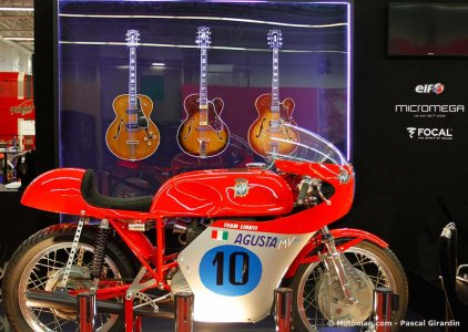Expo Guitars, bikes & rock'n'roll : MV Agusta et Gibson