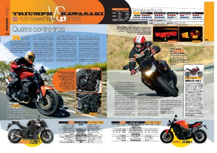 HS Essais 2010 Moto Magazine : roadsters