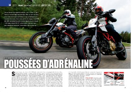MMag - sept 2010 : match Supermotard : brut et brutal !