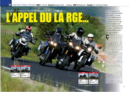 Moto Mag n°270 - sept 2010 : comparatif trails routiers