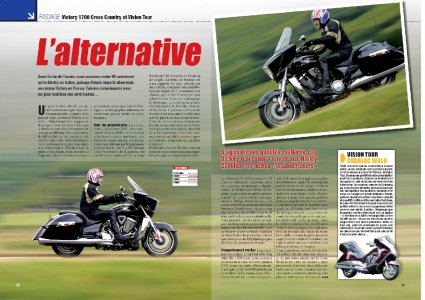 Moto Mag - sept 2010 : Victory 1700 Cross Country