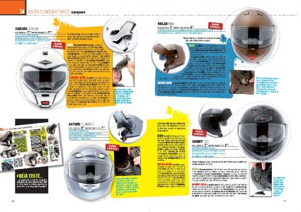 Moto Mag n°270 Test conso casques modulables