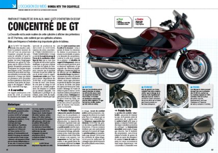 Moto Mag sept 2009 : occasion Deauville