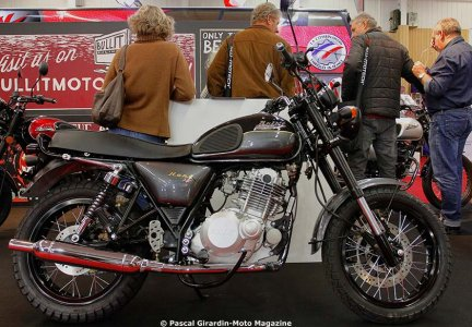 Salon moto de Paris 2015 : Bullit 250 Hunt 2016