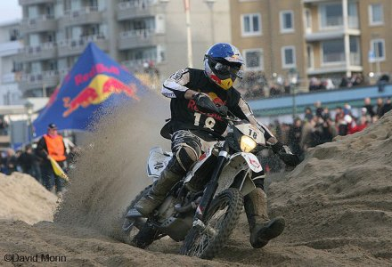 Red Bull KO : Lampkin passe l'obstacle du sable