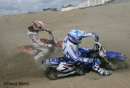 Beach Cross 2008 : Choc de titans
