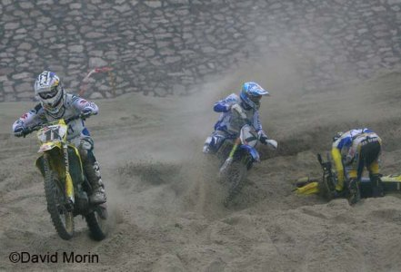 Beach Cross 2008 : Course perdue pour De Dycker