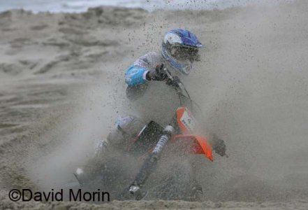 Beach Cross 2008 : Van Grinsven surprend toujours