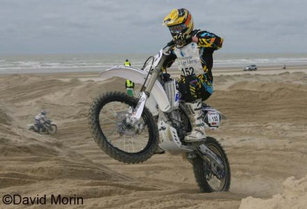 Beach Cross 2008 : Van Beveren mène en 125 2tps 250 4tps