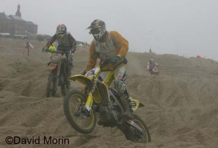 Beach Cross 2008 : De Dycker rate le coche