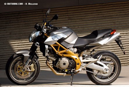 Aprilia 750 Shiver : finition