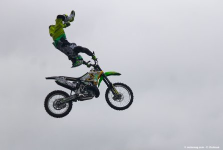 Salon moto de Pecquencourt : freestyle