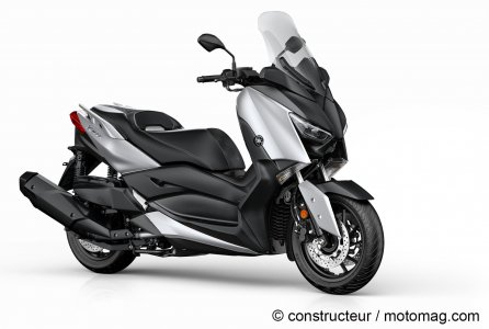 Yamaha X-Max 400 - Coloris Blazing Grey