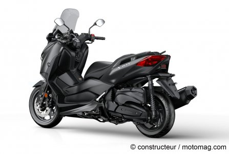 Yamaha X-Max 400 - Coloris Sonic Grey