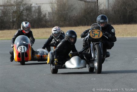 Side Car Party 2012 : Anciens, bassets, F1, F2...