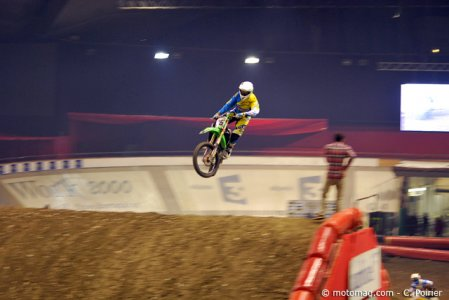 Supercross de Grenoble 2013 : saut final