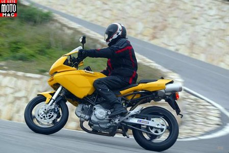 Ducati 620 Multistrada : tenue de route