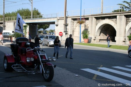 Anti-CT moto - Valence : tractage en trike