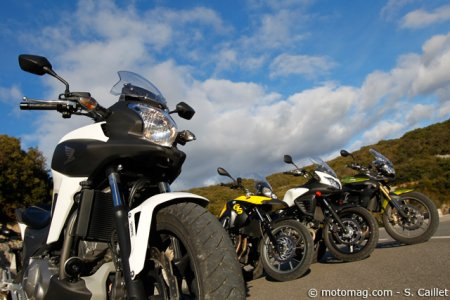 Honda NC 700 X : comparatif trails routiers