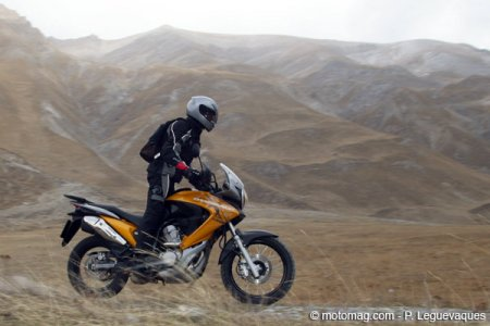 Honda 700 Transalp : off road