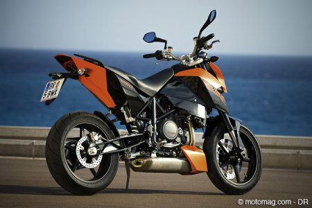 KTM 690 Duke : partie cycle au top