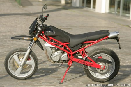 Sachs 125 X-Road : finition