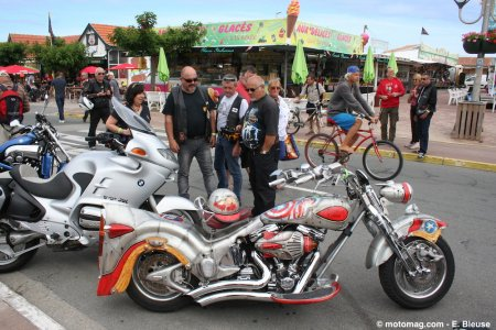show bike de montalivet c 39 est daytona beach en gironde moto magazine leader de l. Black Bedroom Furniture Sets. Home Design Ideas