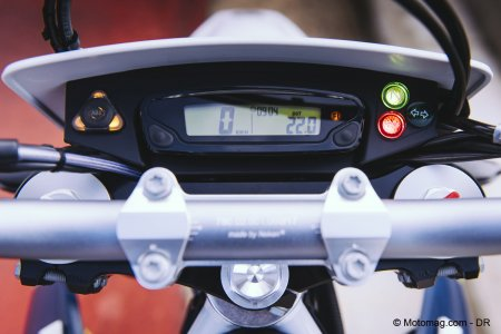 Husqvarna 701 SM : tableau de bord light