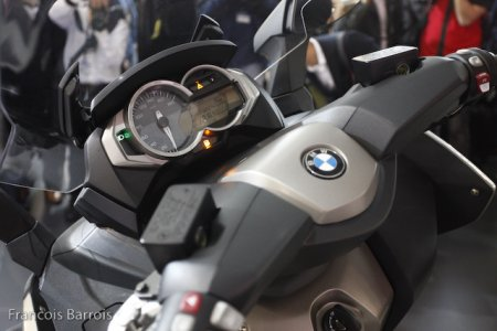 BMW C650 GT : instrumentation cossue