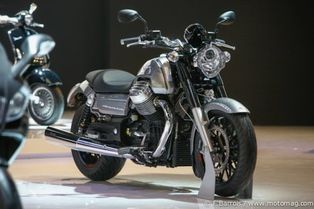Milan - Moto Guzzi 1400 California : version Custom