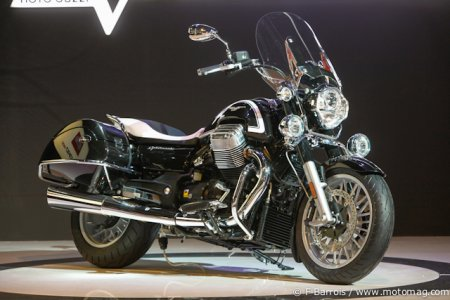 Milan - Moto Guzzi 1400 California : version Touring