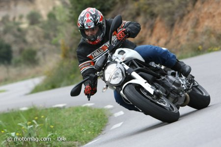 Ducati 696 Monster : puissance