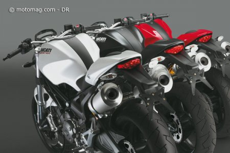 Ducati 696 Monster : couleurs