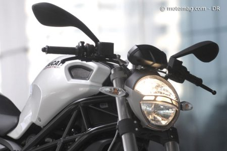 Ducati 696 Monster : une optique