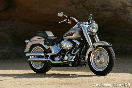 Softail FLSTF Fat Boy : rigidité