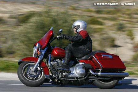 HD Electra Glide : tenue de route