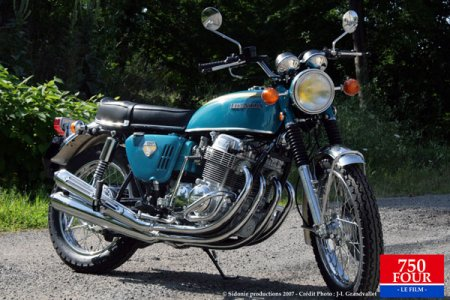 Honda CB750 Four K0 : l'originale
